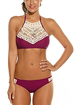 Avidlove Costume da Bagno Bikini Mare Piscina Sexy Due pezzi