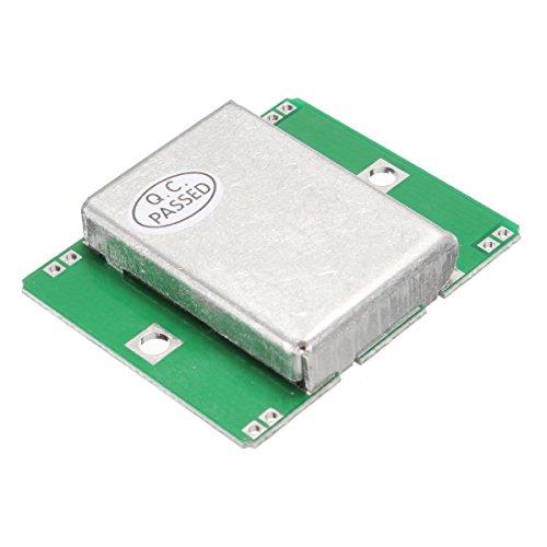 LLAni Mikrowellensensor-Modul 10,525 GHz Doppler-Radar-Detektor, Bewegung, 40 mA für Arduino