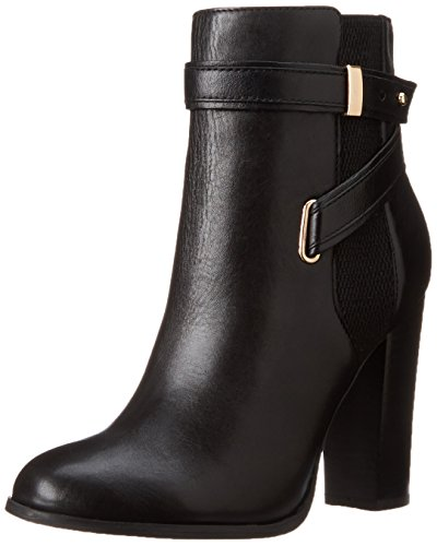 Aldo Lampley Damen Rund Leder Mode-Stiefeletten Black