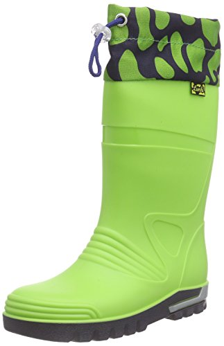 Lurchi Plitschi, Bottines à doublure froide mixte enfant Vert - Grün (green 36)