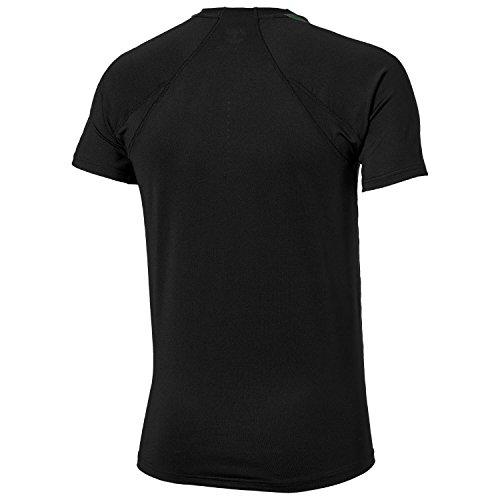 Asics Herren Performance T-Shirt 121729 schwarz - dunkelgrün
