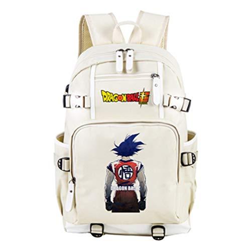 RuiHai Trading Rucksack mit Drachenball-Motiv, groß, für Laptops, College, Bücher, Schule, Rucksack
