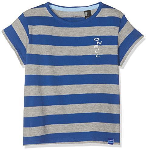 O'Neill Jungen LB Striped Kurzarm T-Shirt, Blau All Over Print, 164 -
