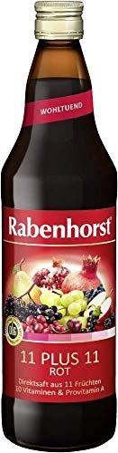Rabenhorst Saft 11 plus 11 rot, 6er Pack (6 x 700 ml)