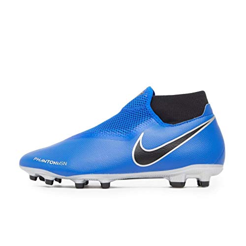 competitive price 4d955 6d33d Nike Unisex Adults  Phantom Vision Academy Dynamic Fit Mg Footbal Shoes,  Racer Blue