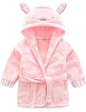 Baby Bademantel Mit Kapuze Jungen Mädchen Nachtwäsche zum Kleinkind