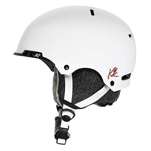 K2 Skis Damen Skihelm MERIDIAN white white M 1054007.1.2.M Snowboard Snowboardhelm Kopfschutz Protektor