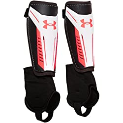 Under Armour Adult Challenge 2.0 Set de espinilleras, Hombre, Blanco (White), MD