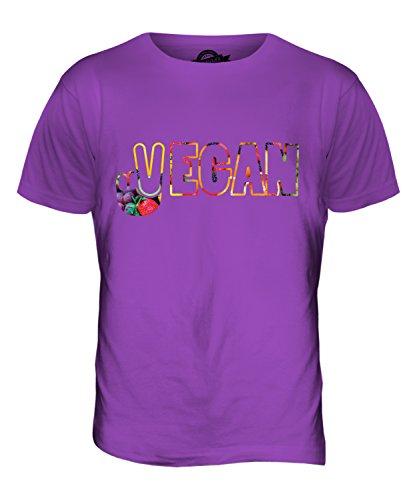CandyMix Vegan Cnd Symbol Herren T Shirt Violett