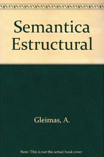 Semantica estructural (investigacion met: Investigación metodológica (VARIOS GREDOS) por A. Gleimas