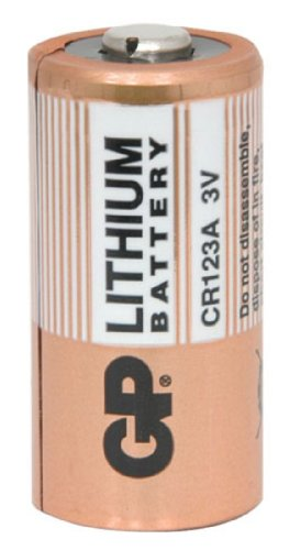 Dynamische Leistung GP BATTERIES - CR123A - c1 - Akku, LITHIUM 3 V CR123A - 1 Stück