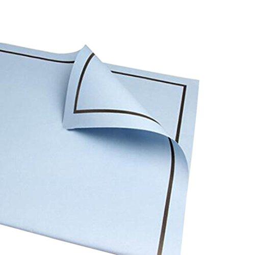 Moderne Emballage cadeau papier, 20 PCS exquis fleur Matériaux d'emballage