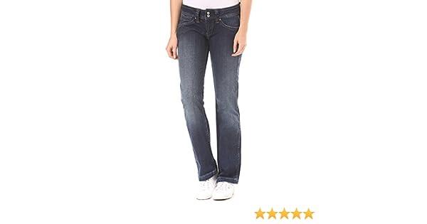 Kleidung & Accessoires PEPE JEANS Damen Jeans Hose Mid Waist