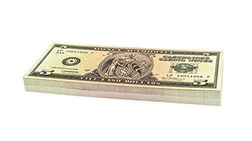 Cashbricks 100 x $5 Dollar Spielgeld ()