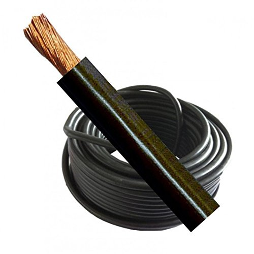 Welding Cable Battery Earth 175 Amp 16 mm Black Flexible Per Meter Mig Tig Arc Welder