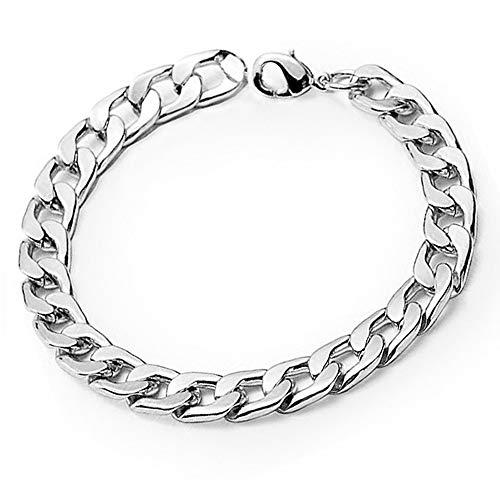 Xuxuou Herren-Armband, Persönlichkeit, übertrieben, dicke Kette, Titan, Stahl, modische Herren-Armbandkette, exquisiter Schmuck, Accessoire, 1 Stück