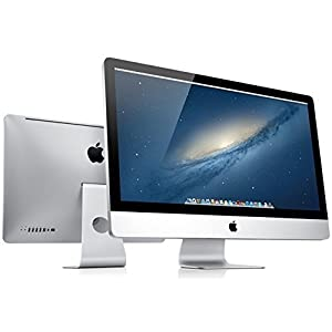 Apple iMac 21.5″ Quad Core i5-2400s 2.5GHz 8GB 500GB DVDRW WiFi iSight Webcam Bluetooth OS X 'High Sierra' (Refurbished)