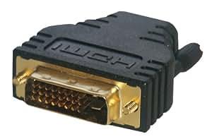 MCL Samar CG-281 Adaptateur DVI-D mâle / HDMI femelle haute qualité