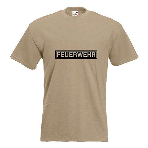 KIWISTAR - Feuerwehr T-Shirt in 15 verschiedenen Farben - Herren Funshirt  bedruckt Design Sprüche