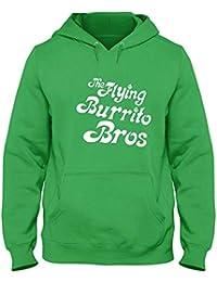 259e354c0dbdb Speed Shirt Sudadera con Capucha Verde FUN0660 AWB gram Parsons Flying  Burrito Bros