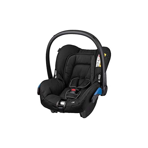 Maxi-Cosi Kinderautositz Citi Black Raven Maxi-Cosi Side protection system, guarantees optimal protection in the event of a side impact Lightweight, light weight and ergonomically shaped safety bar for use as carrying handle Practical travel system 1