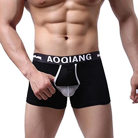 Uomo Boxer ,Ouneed® Mens Breathe Slip Rigonfiamento Shorts,in cotone