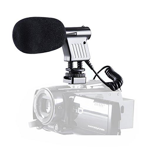 BOYA Professionelle Video & Rundfunksendung gerichtet Directional Kondensator Mikrofon mit Windschutzscheibe für Nikon Canon Sony DSLR Kamera Camcorder DV