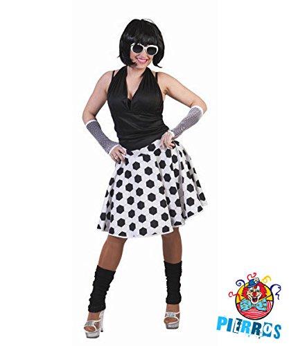 Pierro´s Kostüm Rock Fußball Frauenkostüm Deutschland Rock Größe Einheitsgröße für Karneval, Fasching, Motto Party / Nationen, Deutschland, Fußball WM FAN Artikel