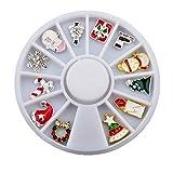 Provide The Best Natale Strumenti Nail Art Kit Accessori Manicure Set Decorazione Strass Decalcomanie del chiodo