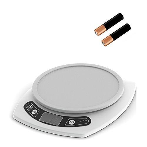 Coleman-Hall Digital Küche Maßstab. Wiegen Speisen in Gramm und Unzen. 15-LB Kapazität.