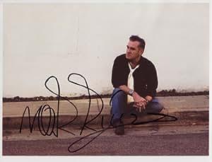 Morrissey SIGNED Photo 1st Generation PRINT Ltd 150 + Certificate (5)