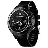 Smart Watch, Sport Bluetooth Uhr Triathlon Pulsmesser Multifunktions Outdoor Sports Bergsteigen Uhr Kompass Höhenmesser Barometer Outdoor Ausrüstung