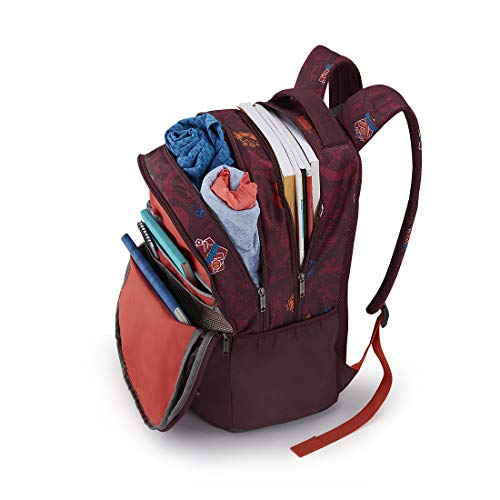 Best college bags for girl in flipkart in India 2020 American Tourister Trafford 34 Ltrs Red Casual Backpack (FR0 (0) 00 101) Image 3