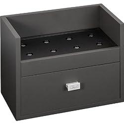 Beco Boxy Uhrenbeweger Grundplatte small mit Uhrenkasten in grau