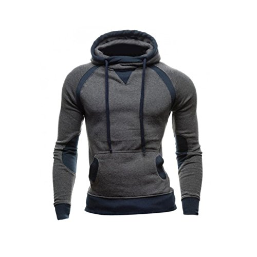 Sweatshirt Homme , Amlaiworld Hiver Sweat à capuche Slim...