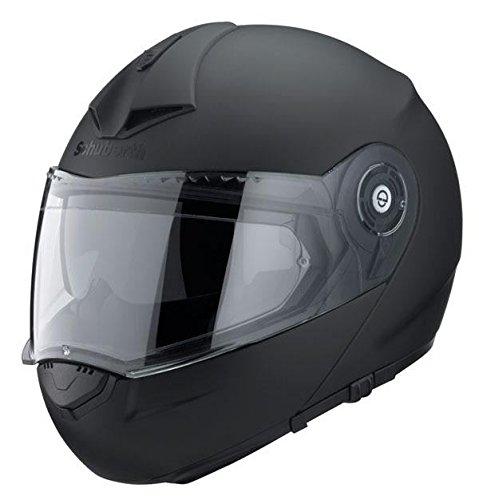 Motocicleta casco Schuberth C3 Pro Negro Mate X L