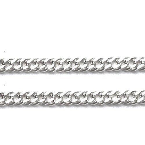 LIOR - Chaîne pour homme et femme largeur: 2.4mm Argent fin 925/1000