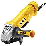DeWalt DWE4203-QS - Mini-amoladora 125mm 1.010W 11.000 rpm con interruptor hombre-muerto