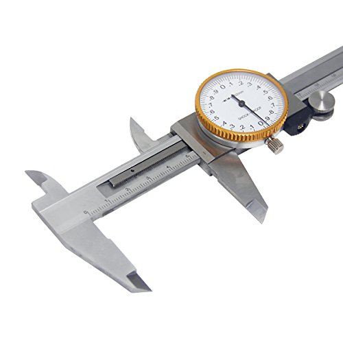 Wisamic 0-150 mm Uhrenmessschieber Dial Caliper Ablesung 0,02 mm