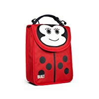 Lost or forgotten lunch bags and boxes will be a thing of the past with these adorable, furry-eared reusable lunch totes for kids.;Durable neoprene is lined with insulating material to keep food cold or warm until mealtime.;Made with PVC-free...