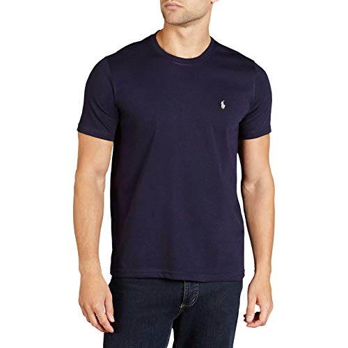 Ralph Lauren T-Shirt Round Neck Custom Slim Fit (XXL, Anthracite)