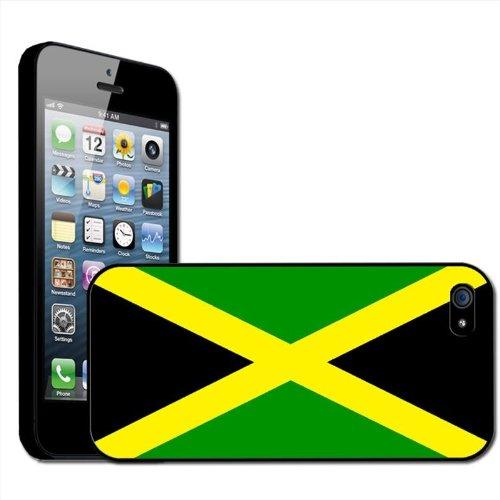 Jamaïque Drapeau Coque arrière rigide détachable pour Apple iPhone modèles, plastique, iPhone 5/5s