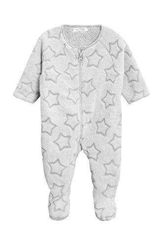 next Baby Jungen Weicher Fleece Schlafanzug Mit Stern (0Monate Bis 3Jahre) Grau 1.5-2 Jahre