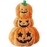 TYJY Nuovo Stile Cane Halloween Vestiti Pet Costume di Halloween Moda Drappeggio Modello Zucca per Cane nel Festival di Halloween, L