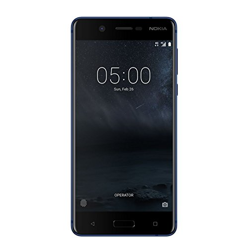 "Nokia 5 4G 16GB Blue - Smartphones (13.2 cm (5.2""), 16 GB, 13 MP, Android, 7.1.1 Nougat, Blue)"