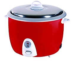 Roxx Vector 1.8-Litre Rice Cooker (Red)