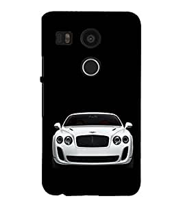 Luxury Car 3D Hard Polycarbonate Designer Back Case Cover for LG Nexus 5X :: LG Google Nexus 5X New