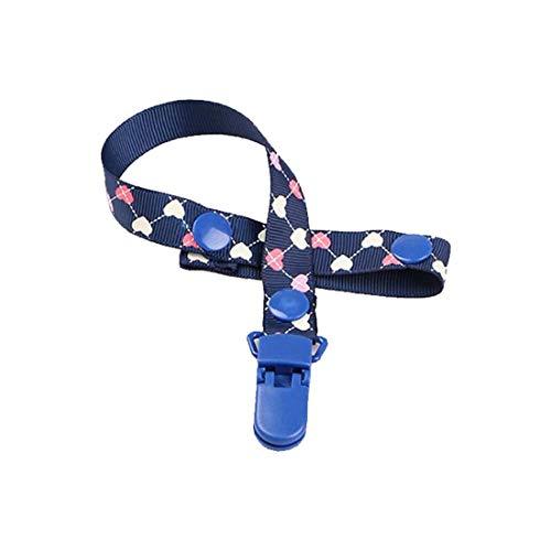 Chupete de bebé que sostiene el hombre/la cadena del chupete de pezón/clip simulado pezón niño...
