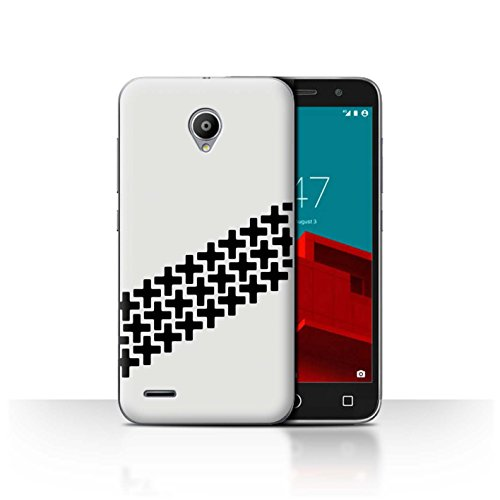 Stuff4® Hülle/Case für Vodafone Smart Prime 6 / Reifenrutschspuren Muster/Straßenrennen Kollektion (Smart Escort)