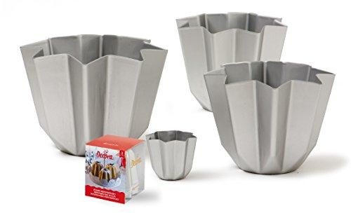 Decora stampo in alluminio pandoro grammi 750 natale